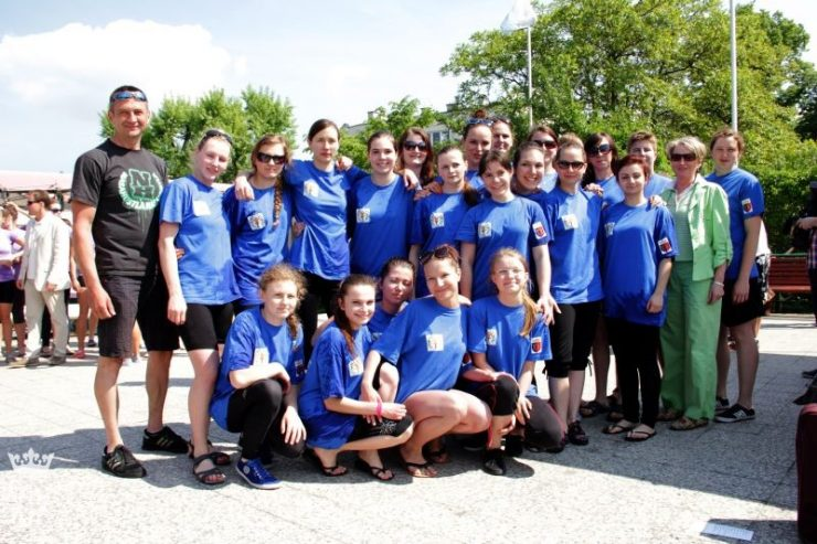 Our Teenagers Team during Regatta in Krakow