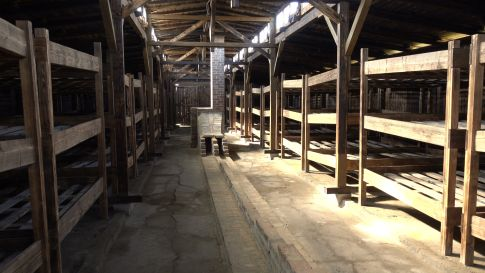 Auschwitz tour - prisoners barracks